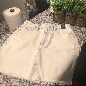 Abercrombie Zoe Vintage A-Line Denim Skirt